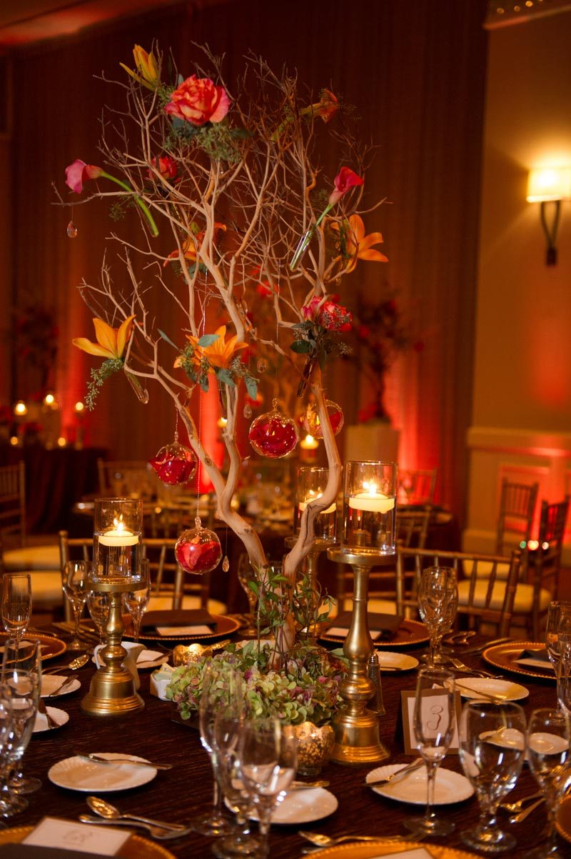 Tree Romantic Lighting and Candles