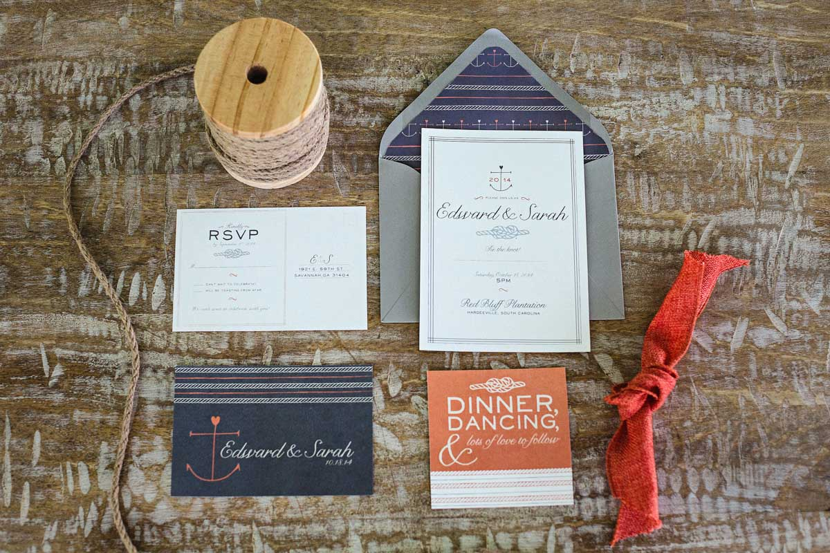 Wedding Invitations - Izzy Hudgins Photography