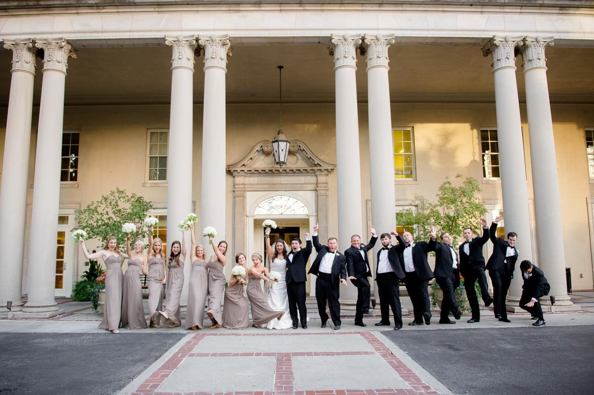Wedding Party - Paris Mountain Photography