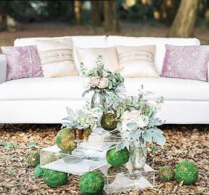 wedding party decor Hannahs Floral Events