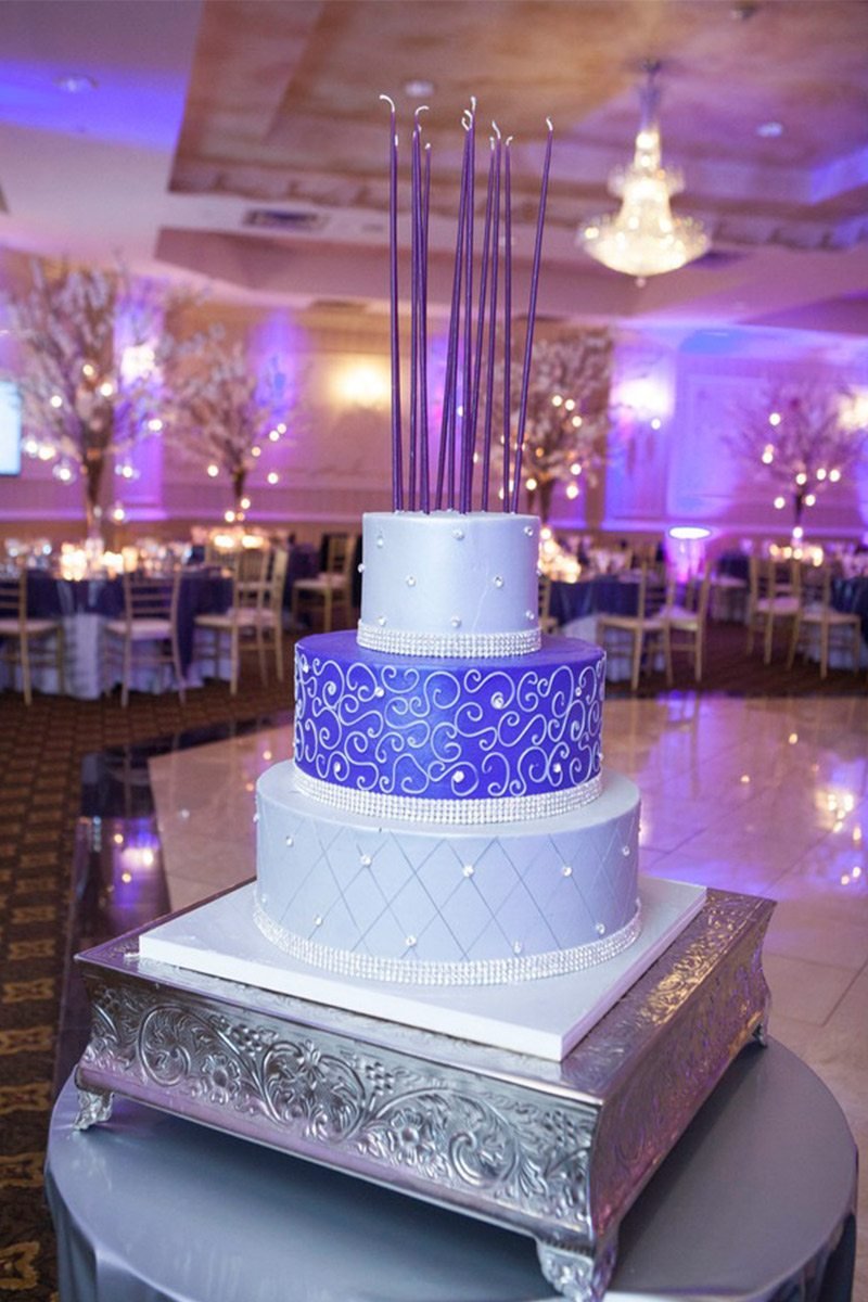 purple-mitzvah-party-cake