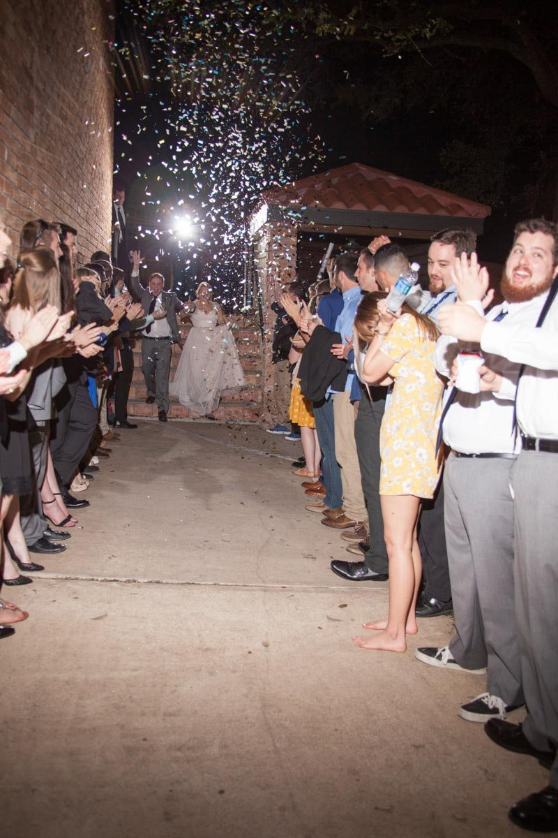 Confetti exit for bride and groom Smith_Neesley_Sarah_Melyssa_Photography_IMG0572