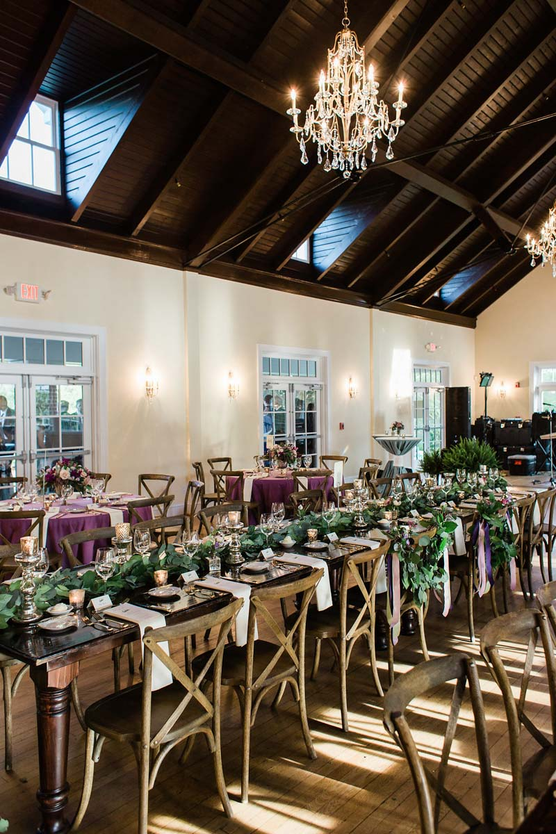 grand feasting table reception space layout