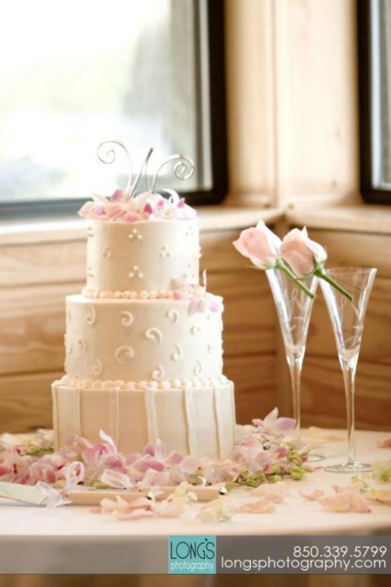 katie's cakes and catering Tallahassee wedding cakes