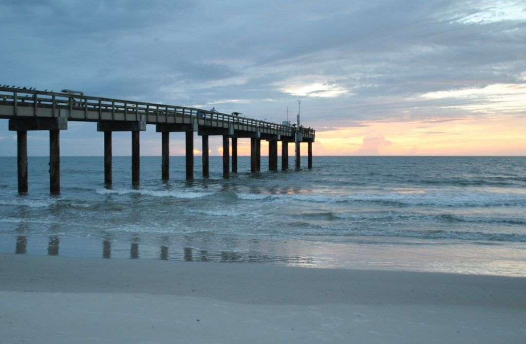 St Aug Beach Pier