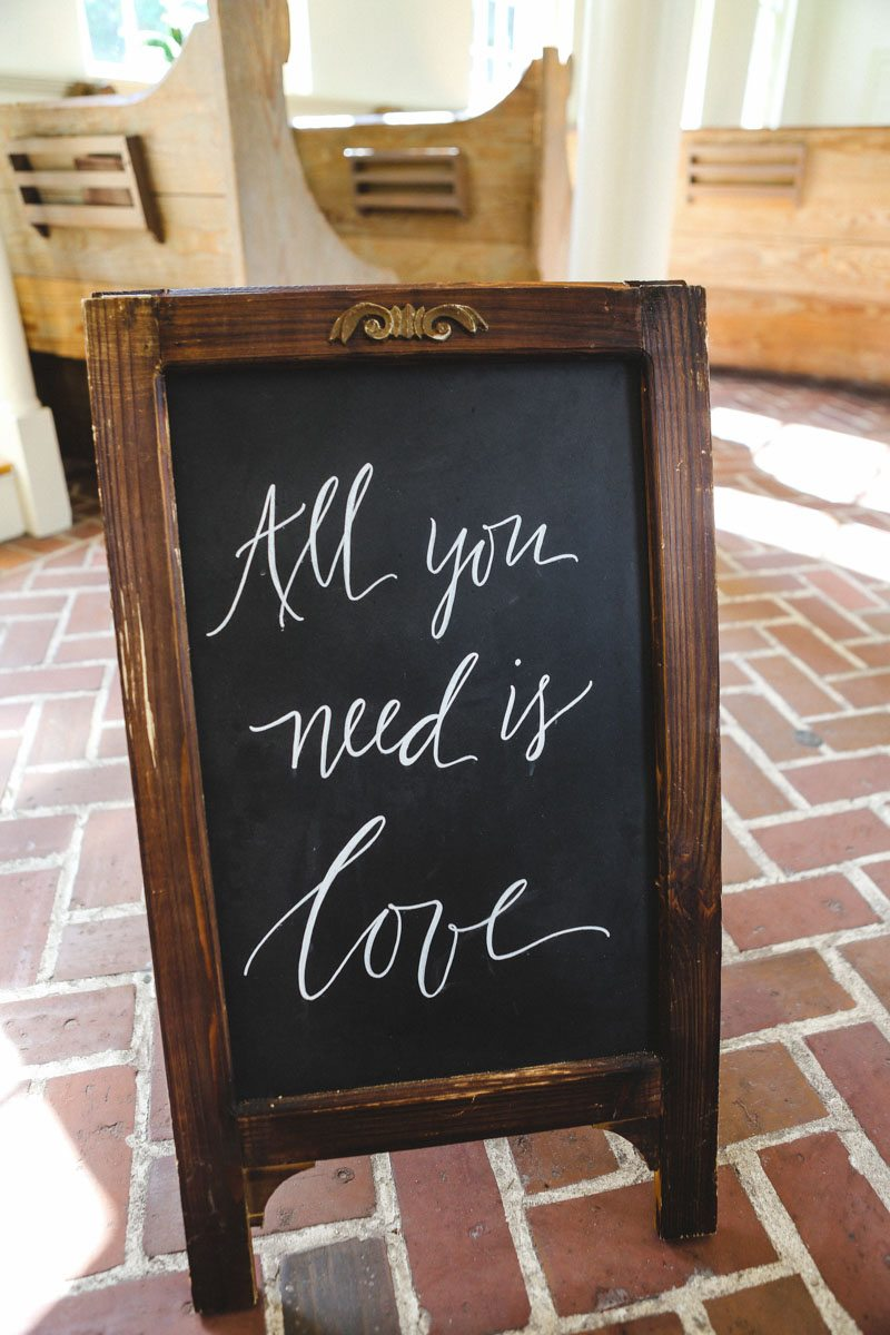 all-you-need-is-love-chalkboard-sign