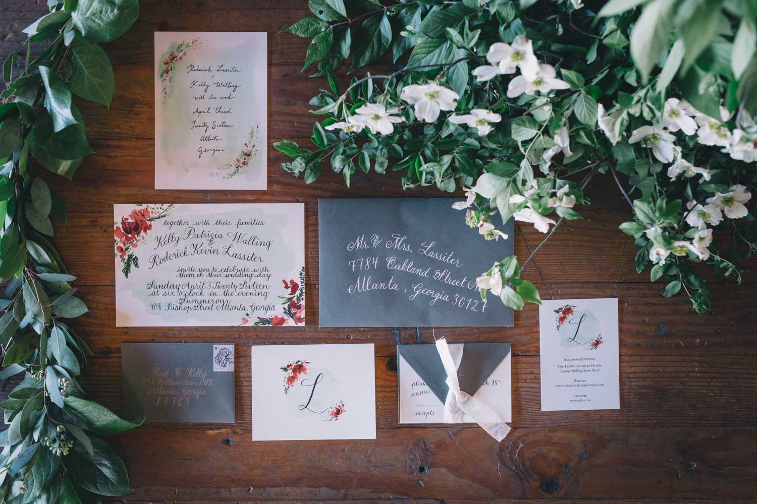 black-and-white-and-red-wedding-invitation