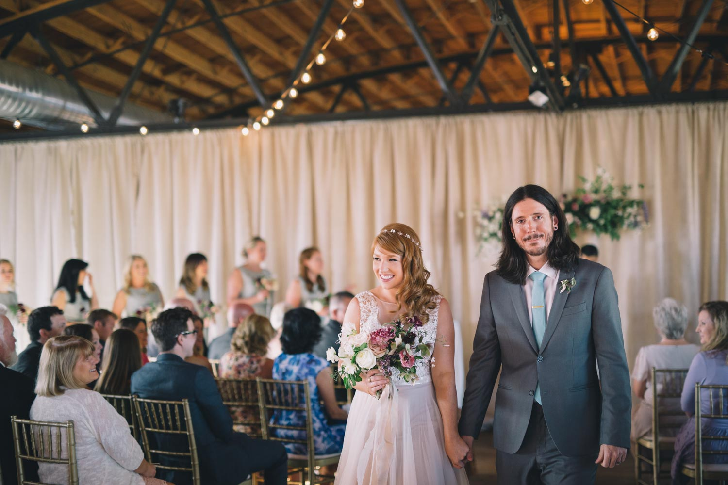bride-and-groom-recessional