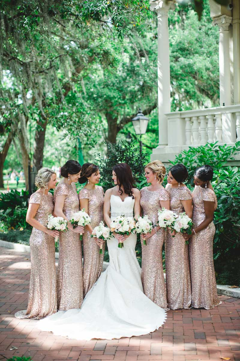 gold-shimmer-bridesmaid-dress