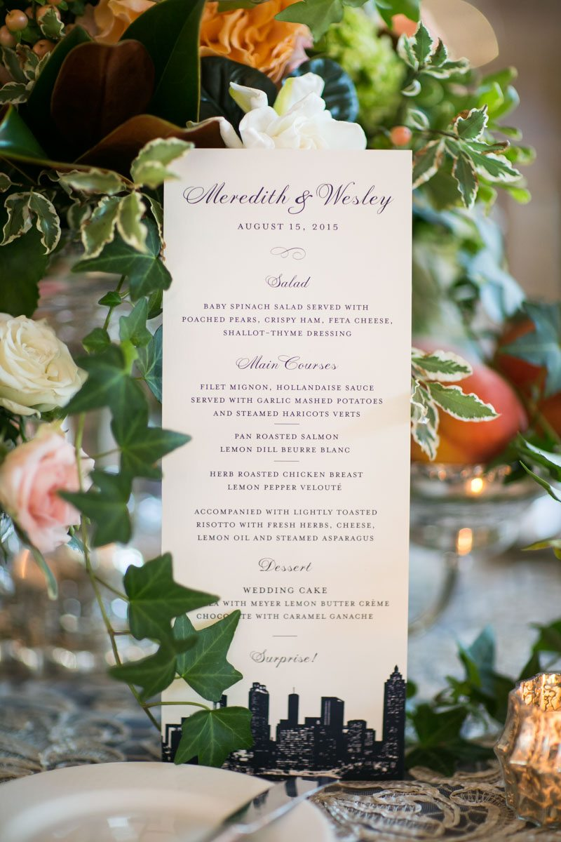 navy-and-white-reception-menu-card