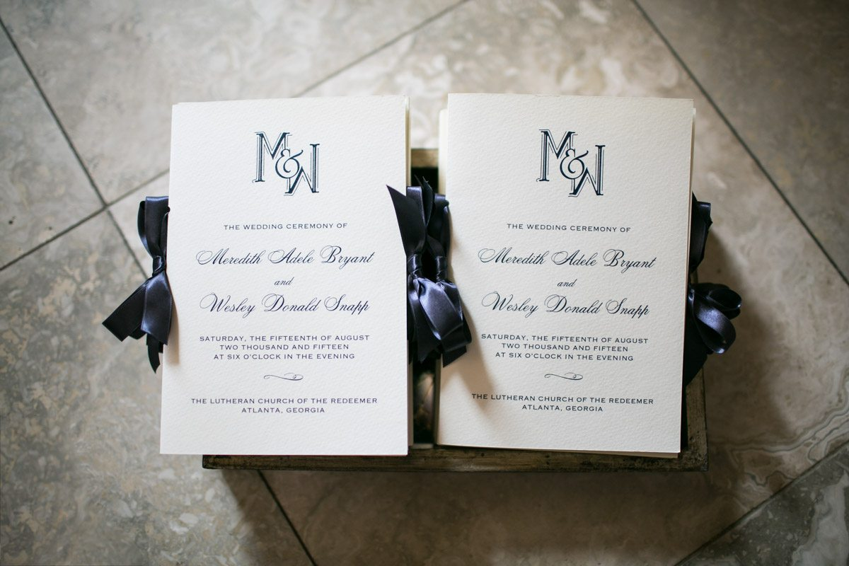 navy-blue-monogram-wedding-ceremony-programs