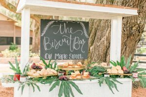 biscuit bar wedding food southern wedding