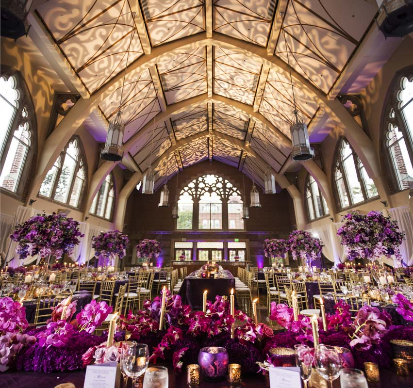 lavish purple wedding at agnes scott college in decatur. Black Bedroom Furniture Sets. Home Design Ideas
