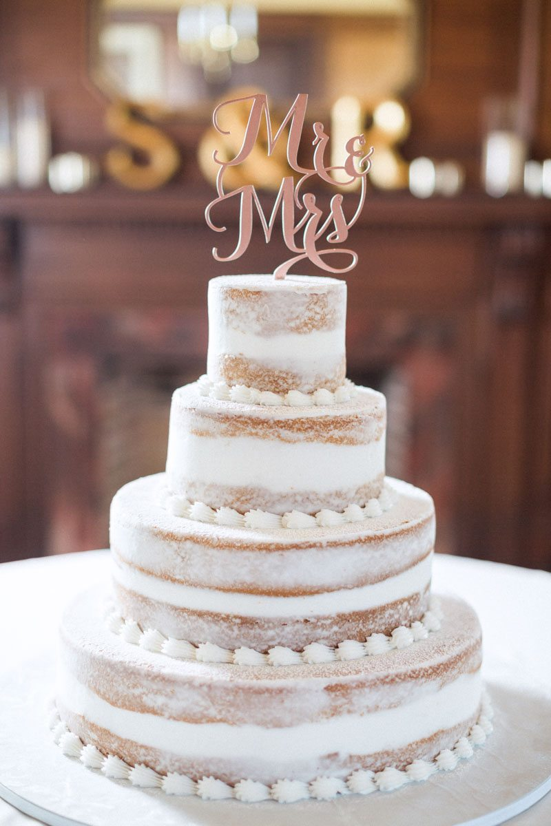simple-white-cake-with-mr-and-mrs-cake-topper