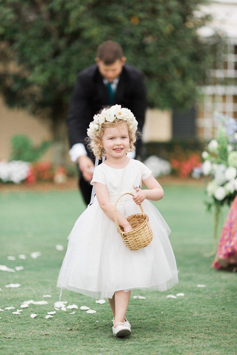 white-flower-crown-flowergirl