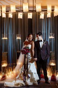 bold weddings bride and groom