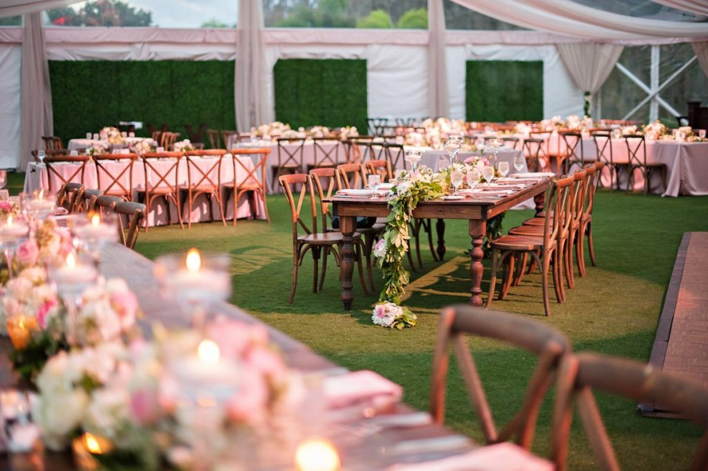 Romantic Evening Wedding At Isleworth Golf Country Club In