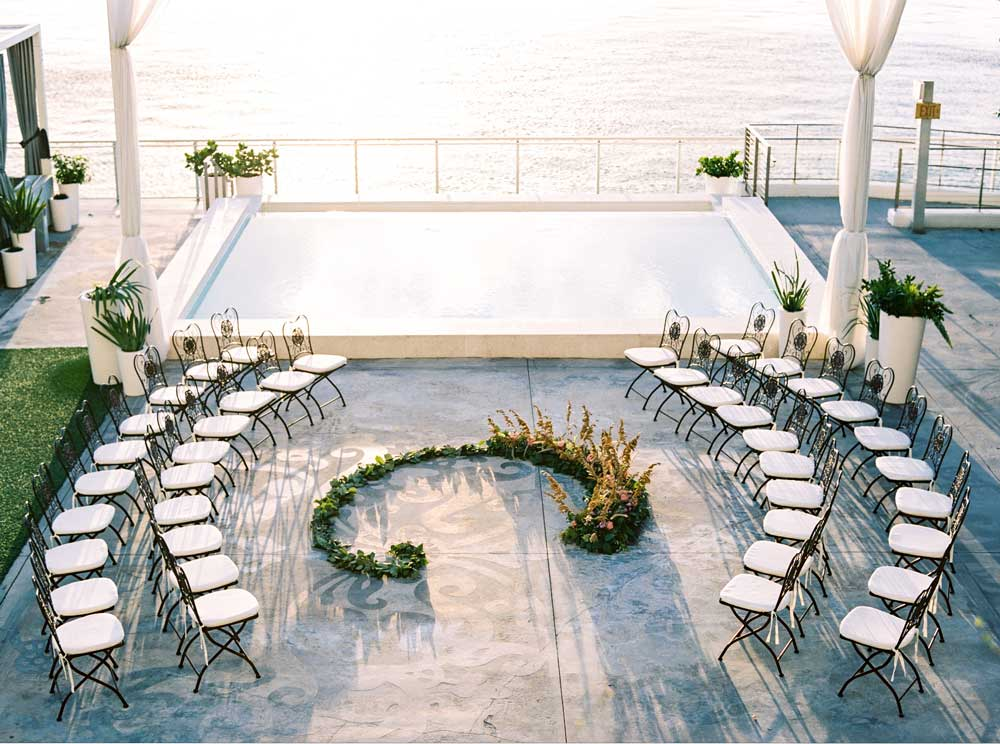 Mondrian South Beach Waterfront Wedding Venue Miami