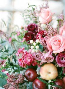 pink fuschia flower arrangement