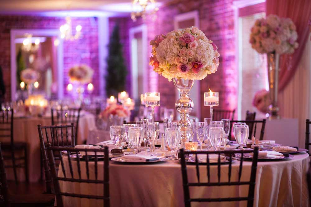Candlelight Wedding Reception Ideas The White Room St Augustine Florida Venue