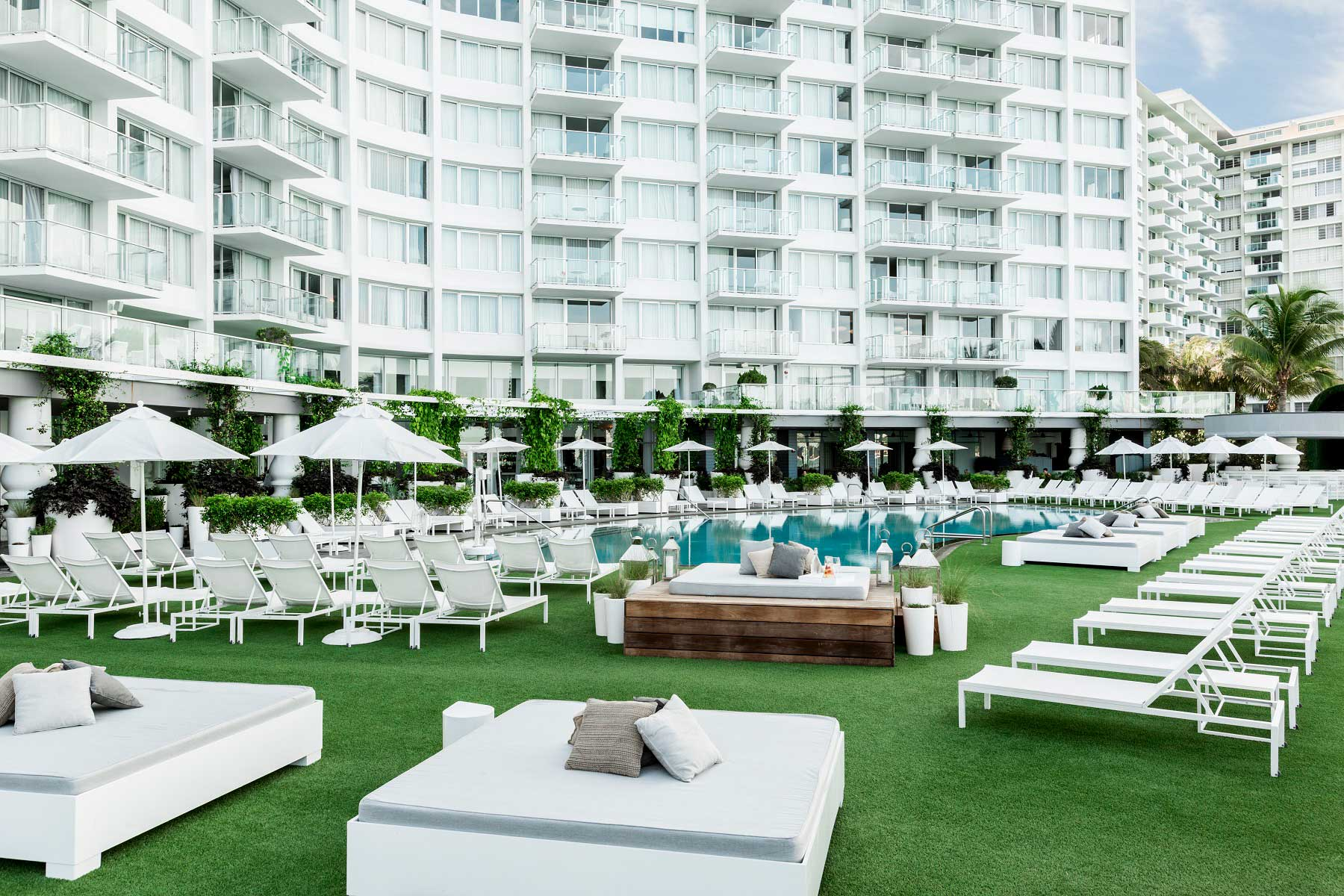 Explore The Mondrian South Beach: A Chic Waterfront Resort Venue for ...