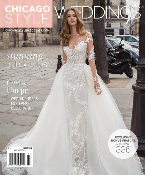 ChicagoStyle Weddings May June 2020 Cover