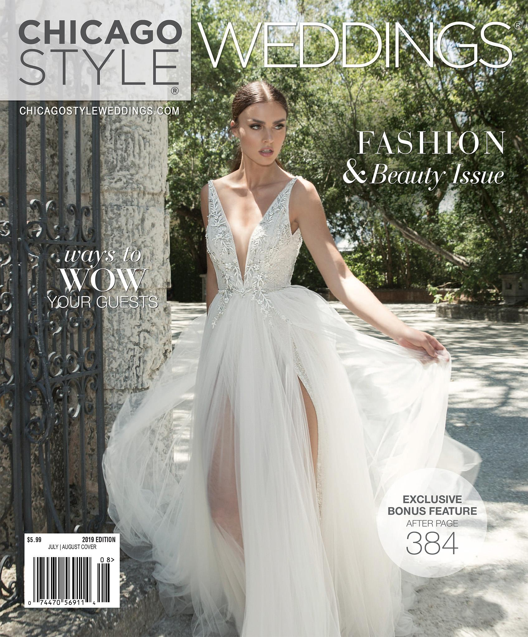 ChicagoStyle Weddings - July 2018 - July / August 2019 Issue | Wedding Magazine | Chicago Magazine