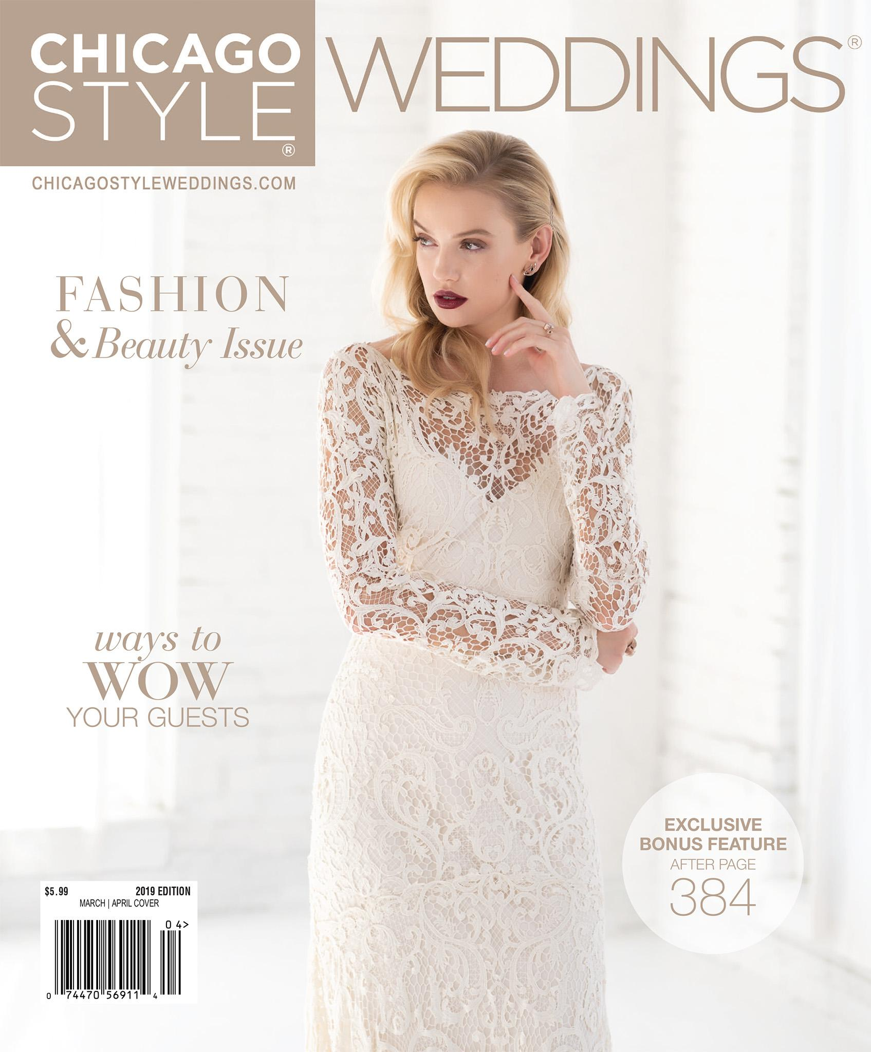 ChicagoStyle Weddings - July 2018 - March / April 2019 Issue