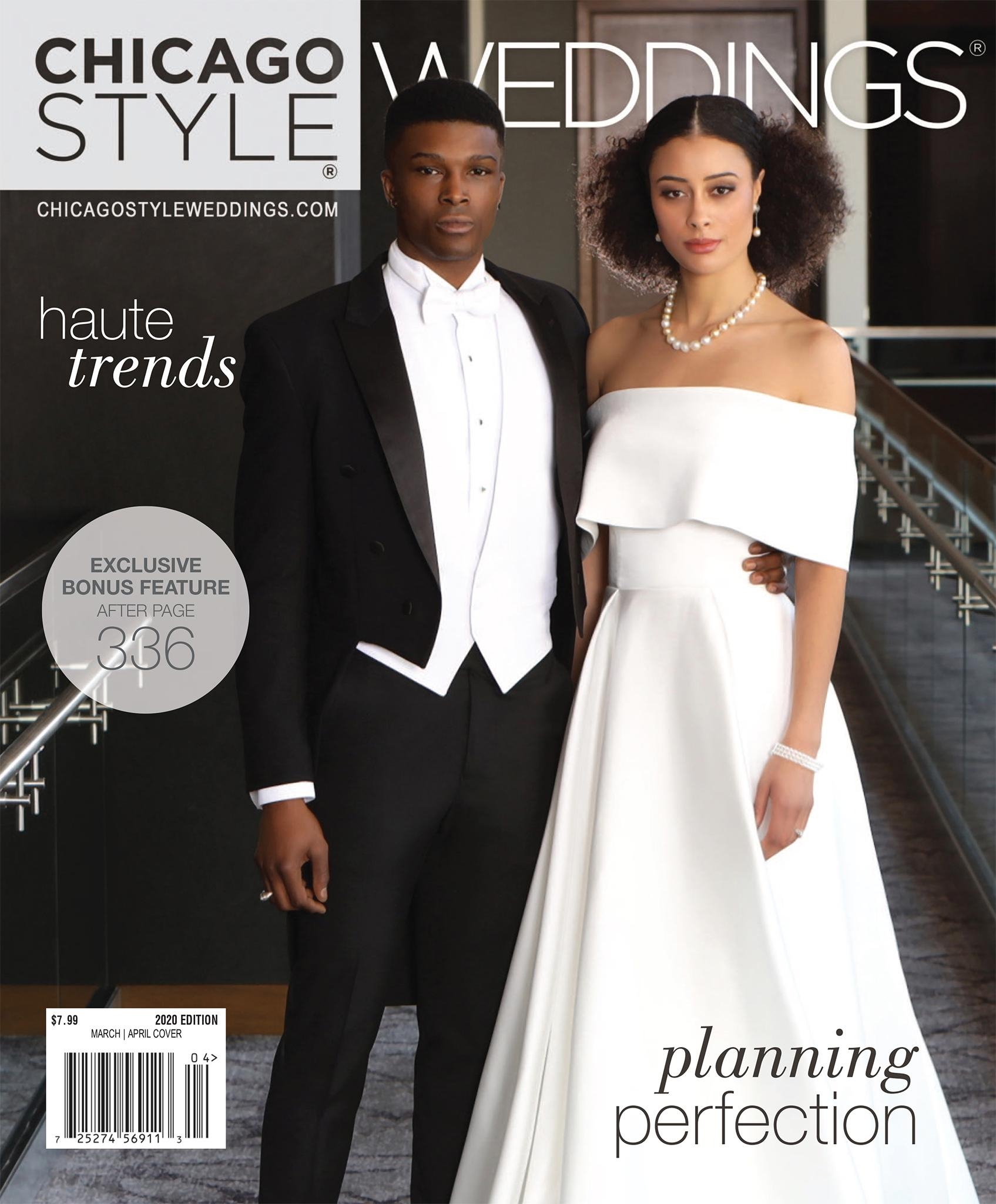 ChicagoStyle Weddings March April 2020 Cover