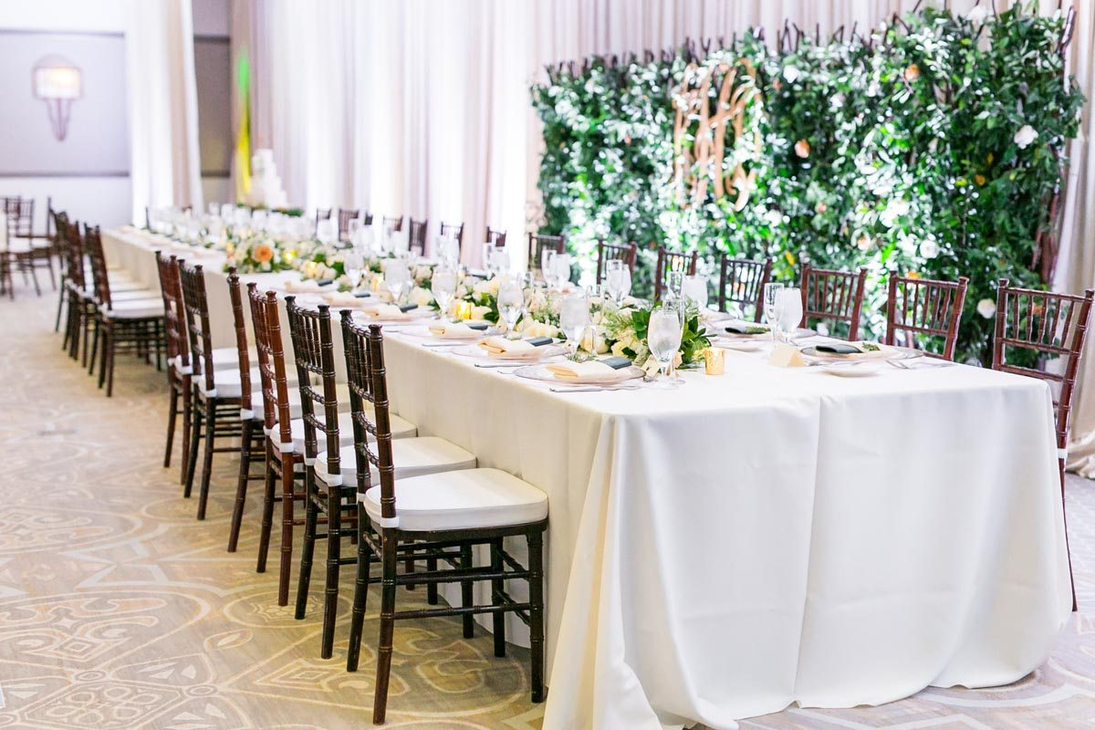 Luxe Greenery Filled Gold Wedding At The Alfond Inn In Winter Park Fl Celebration Society