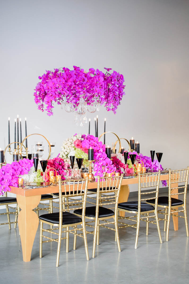 High/Low Cost Comparison: A Vibrant Wedding Styled Three Ways for ...