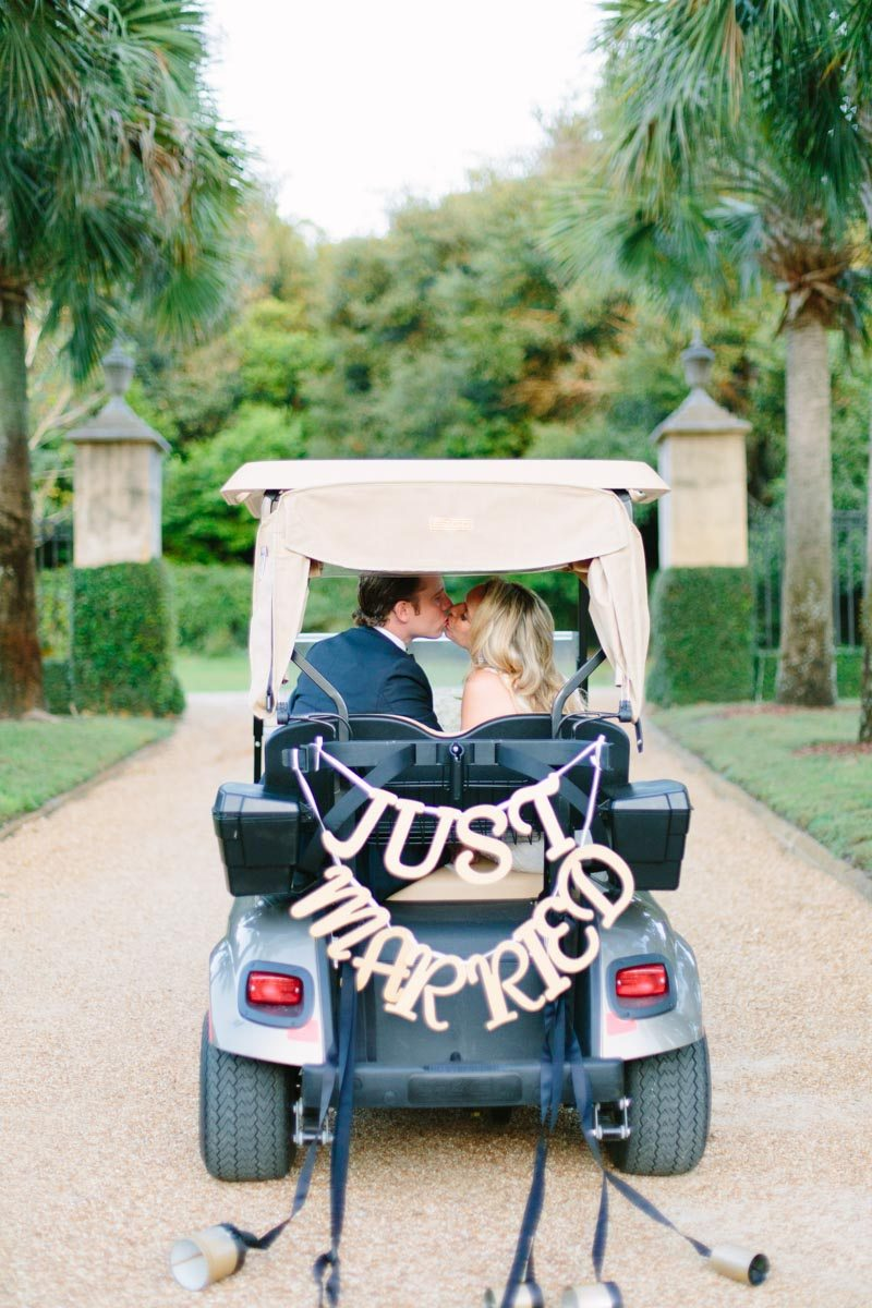 Just Married Golf Cart Florida Wedding Ideas-Mango Studios20 ... on accessories ideas, golf dinner decorations, garage ideas, golf candies ideas, john deere ideas, parade theme ideas, golf card ideas, tool box ideas, golf table ideas,