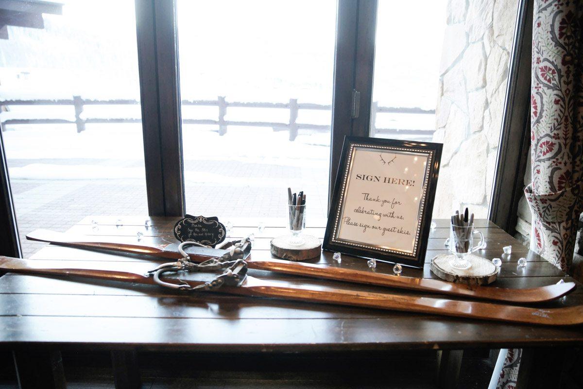 Mountain Antler Themed Wedding Ideas Logan Walker Photography26 ...