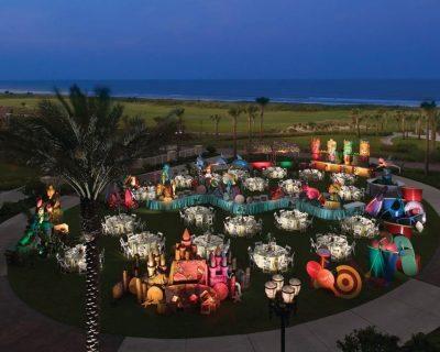 Hammock Beach oceanfront wedding and party Resort.