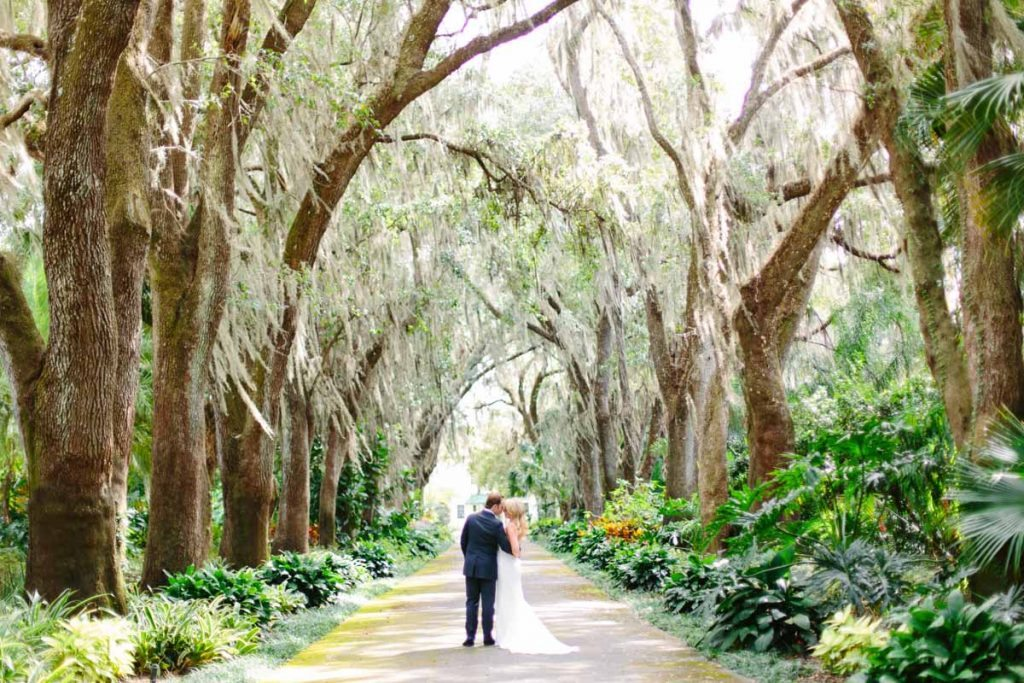 southern spanish moss mountain lake wedding venue