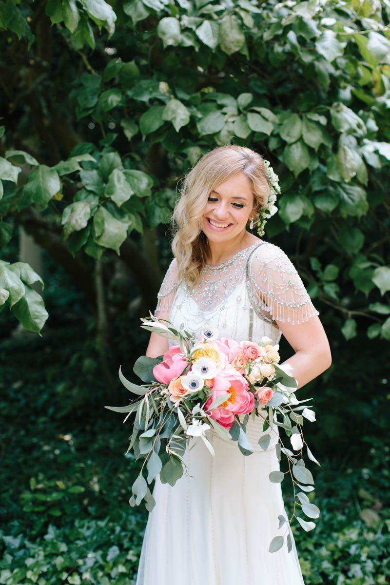 modern-bridal-bouquet-peonies-eucalyptus