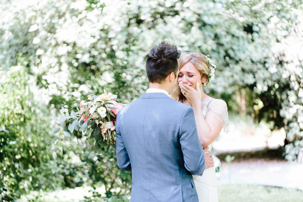 emotional-bride-first-look-wedding-day