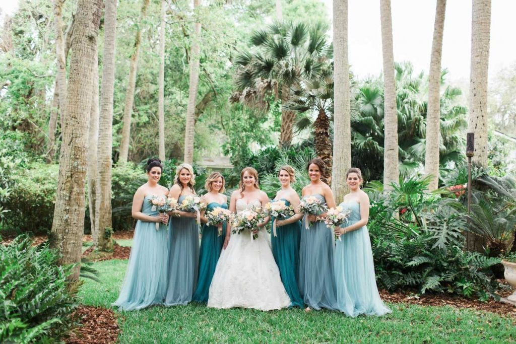 Turquoise Coastal Inspired Wedding At Atlantic Beach Country Club In Fl The Celebration Society