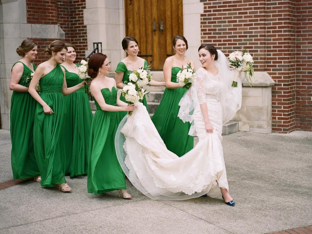 Elegant St Patrick S Day Wedding At The Estate In Atlanta Ga