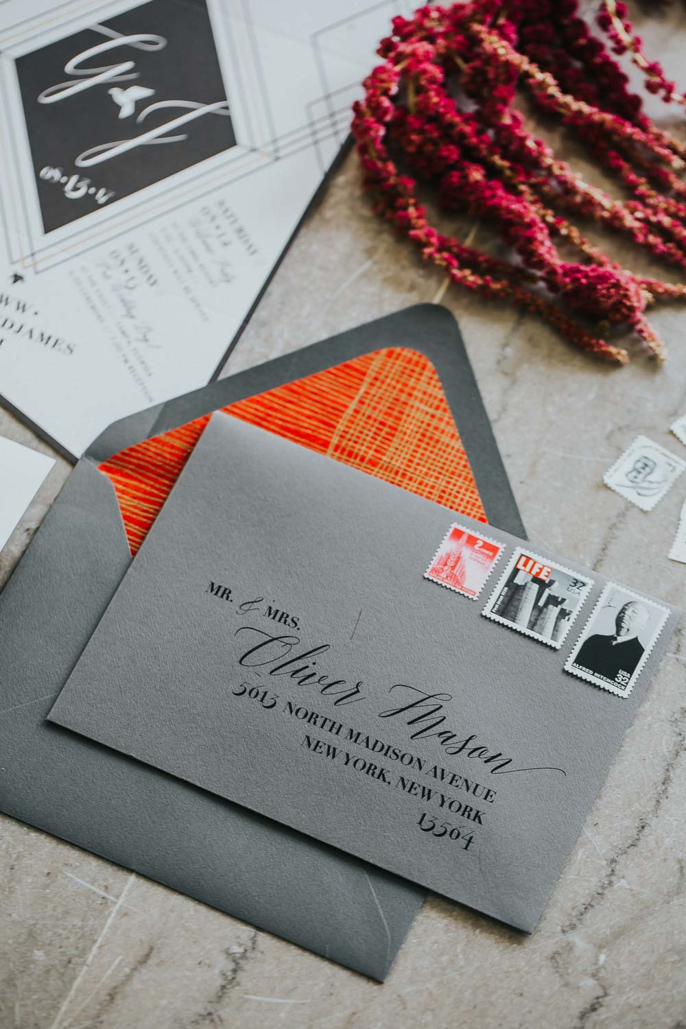 dark-grey-orange-invitation-rad-red-creative-the-vault-1