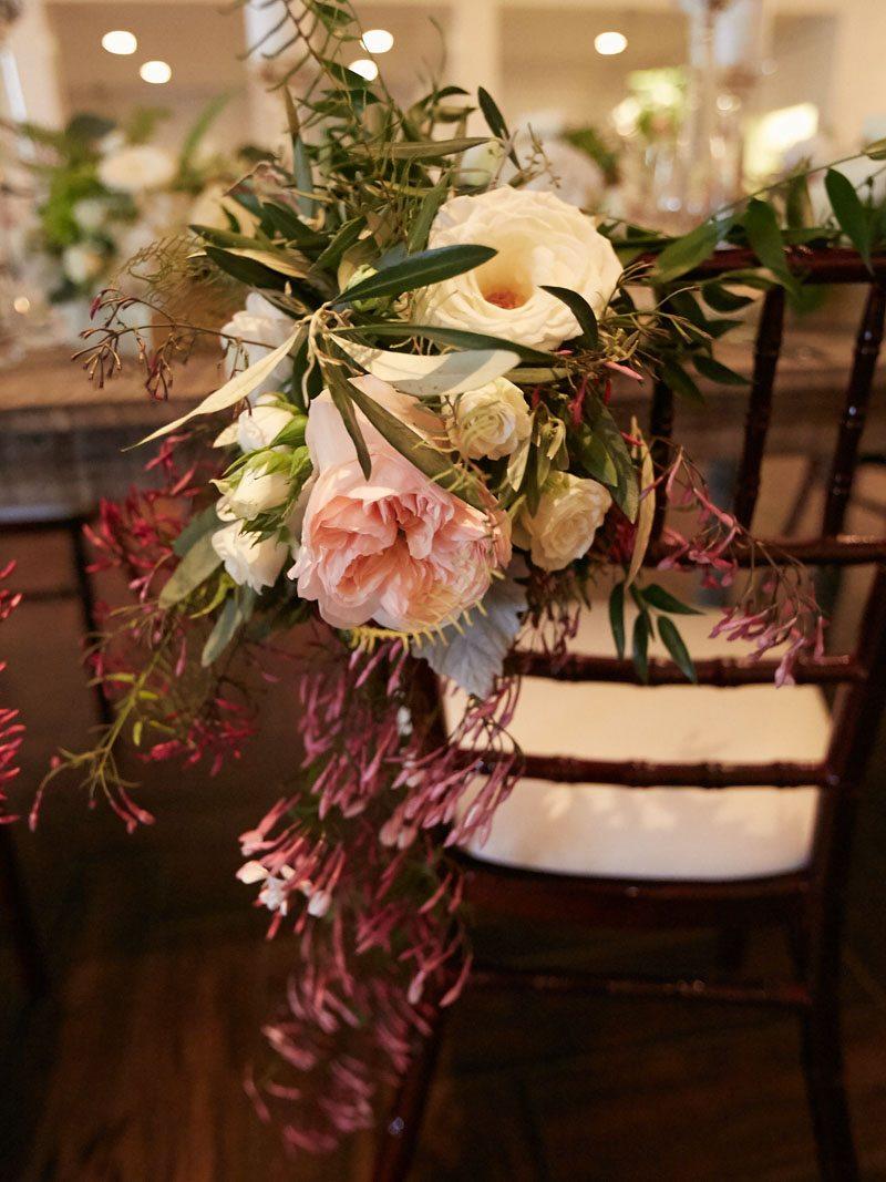 dark-pink-reception-chair-flowers-davy-whitener-photography-83