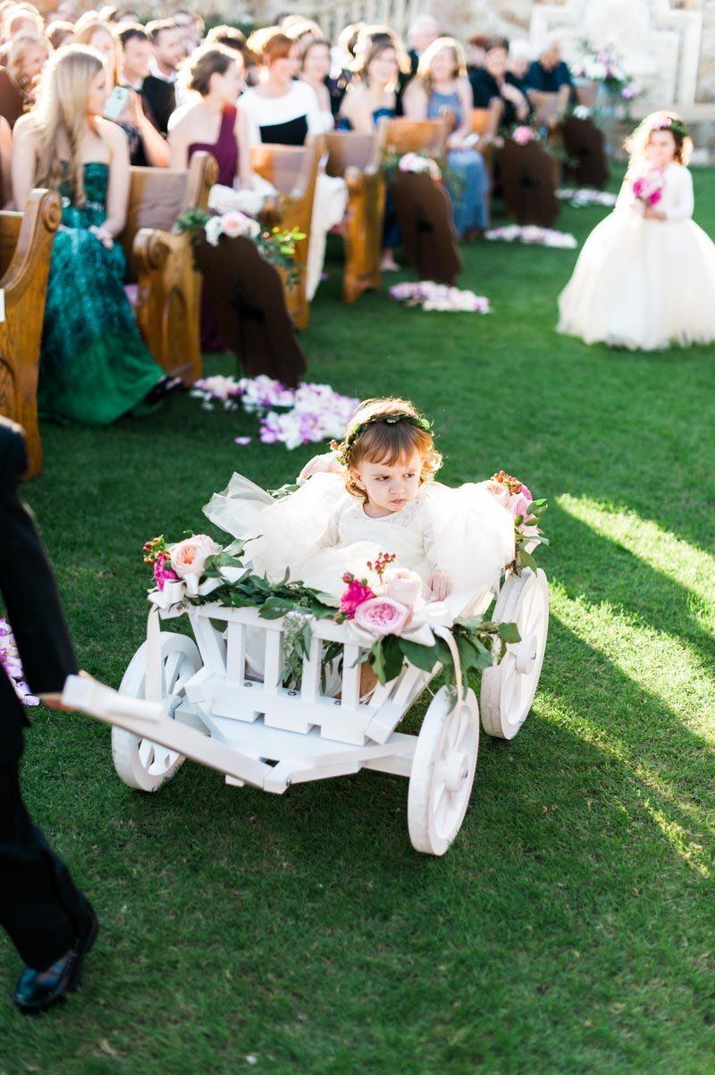 25 best Abigail's wedding wagon ideas images on Pinterest ... |Flower Girl Wagon Wedding Party