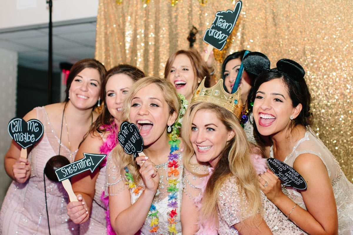 bride-bridesmaids-wedding-reception-photobooth