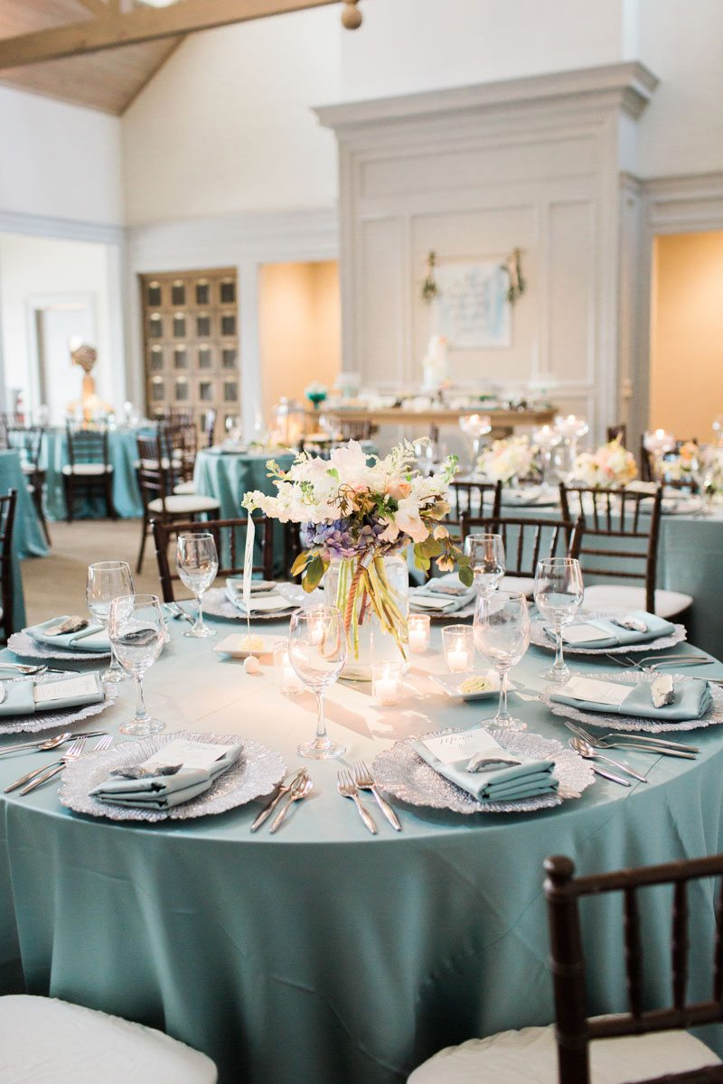 Turquoise Coastal Inspired Wedding At Atlantic Beach