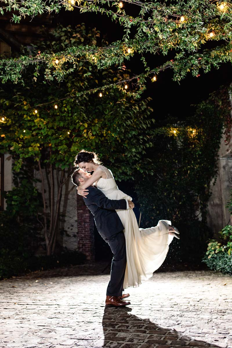 night-outdoor-bride-and-groom-sowing-clover-photography-117
