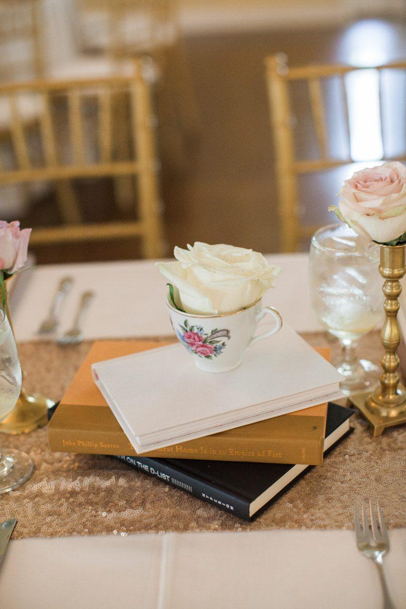 Novel Centerpieces Book Themed Wedding Ideas Annie Agarwal Photography 11