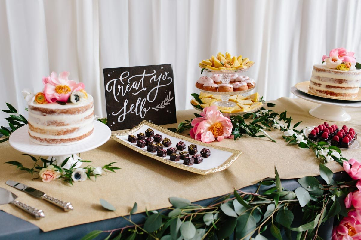 treat-yo-self-wedding-reception-dessert-display
