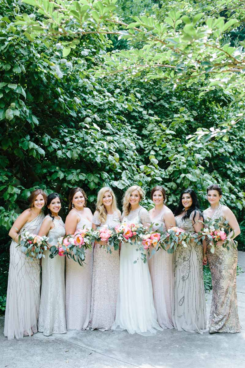 blush-beaded-mismatched-bridesmaid-dresses