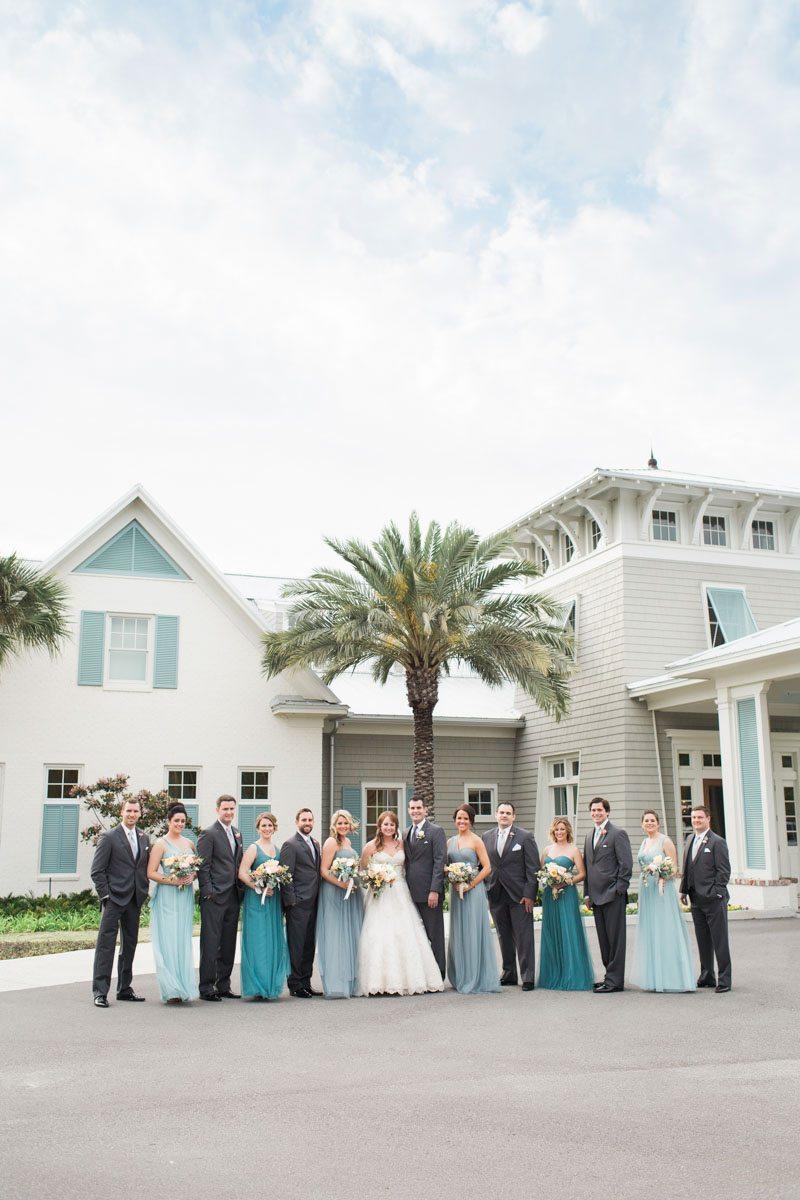 Turquoise Coastal Inspired Wedding At Atlantic Beach Country Club