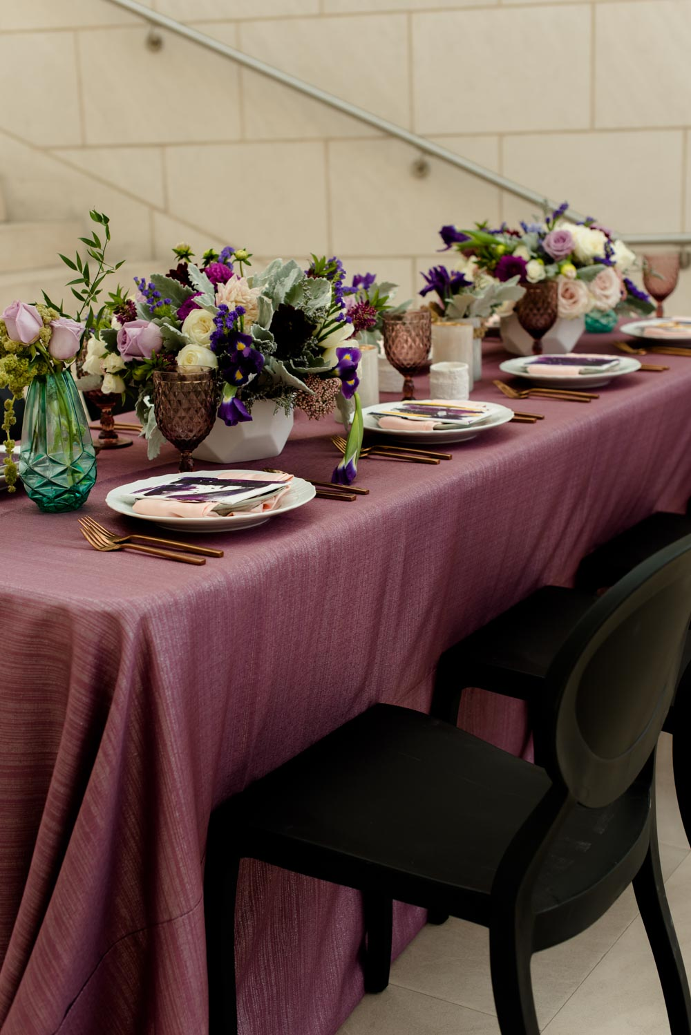 wine-colored-table-cloth-reception-caroline-evan-jepson-center-3